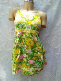 Fresco Vestido Floral Talla Xl