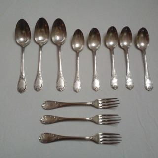 Antiguas Cucharas Tenedores Christofle Reposición
