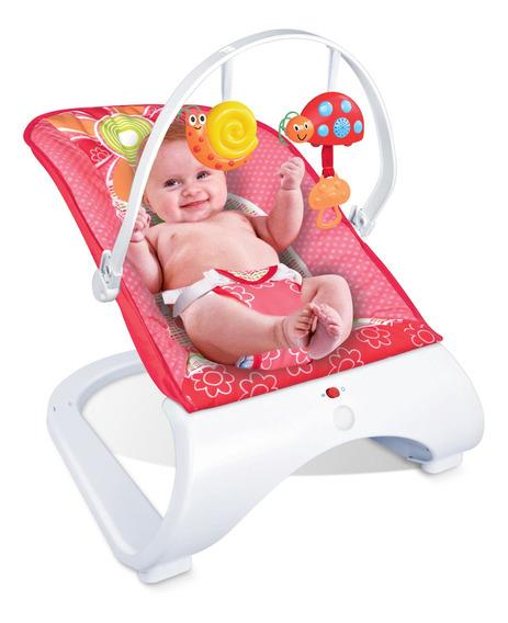 Cadeira Cadeirinha De Descanso Musical Bebê Maxi Baby Red