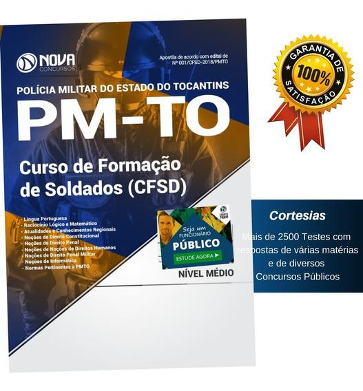 Apostila Pm To - Soldado Da Polícia Militar Do Tocantins