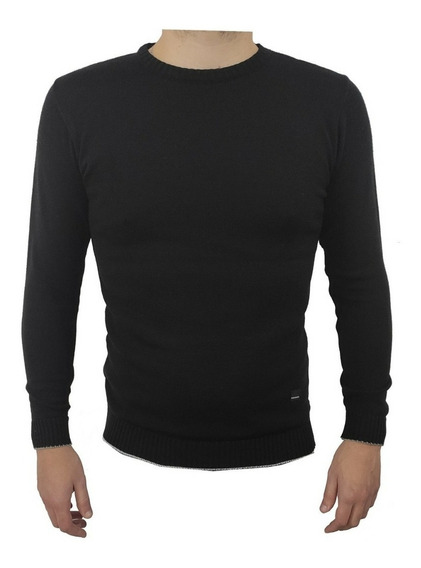 Sweater Hombre Sueater Liso Pullover Excelente Calidad