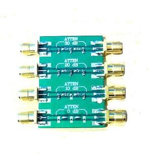 Atenuador De Rf 0-4.0 Ghz Serie Nwt