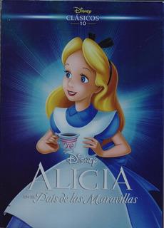 Alicia En El Pais De Las Maravillas Disney Clasicos 10 Dvd