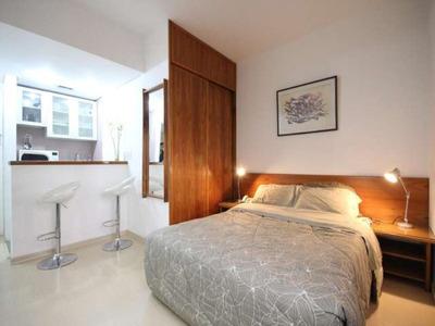 Flat 1 Dormitório 1 Vaga Mobiliado Para Locação Em Moema Sp - L03474 - 2696296