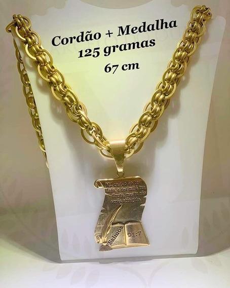 Cordão De Ouro 24k125 Gramas De Ouro 24kPromoção!