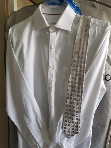 Camisa Y Corbata Oscar De La Renta