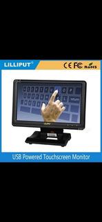 Lilliput Monitor De Pantalla Táctil Usb