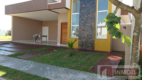 Casa Em Condomínio Para Venda Em Taubaté, Jardim Santa Tereza, Ouroville, Cond. Residêncial, 3 Dormitórios, 3 Suítes, 1 Banheiro, 3 Vagas - Ca0143_1-1766742