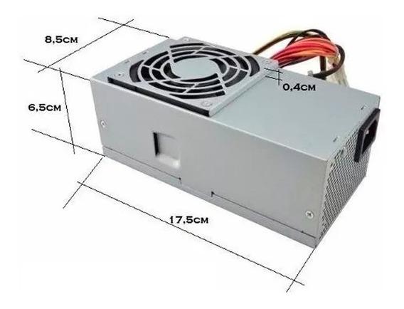 Fonte Slim - Para Lenovo, Dell E Itautec - Nova.