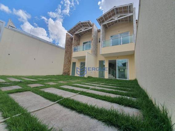 Casa Com 2 Dormitórios À Venda, 100 M² Por R$ 297.000 - Mondubim - Fortaleza/ce - Ca0946