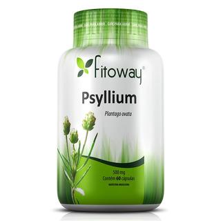Psyllium Fibras - Fitoway - 60 Cápsulas