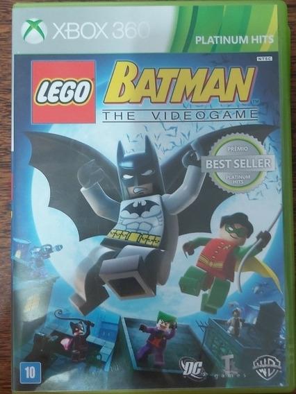 Lego Batman Jogo Mídia Original Para Xbox 360.