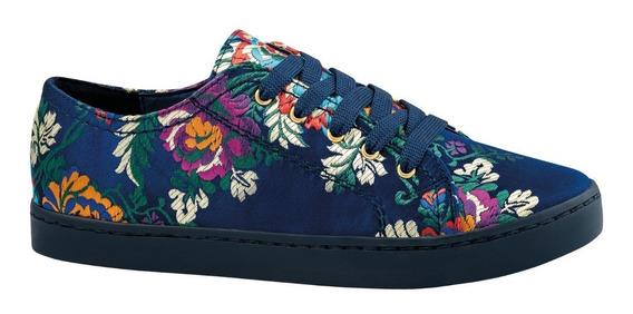 Zia Tenis Estilo Converse Flores Sneakers Urbano 3151222