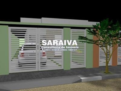 Casa Térrea Individual No Golfinho, 02 Quartos Sendo Uma Suíte - 929