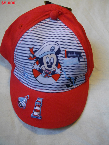 Jockey Mickey Kids Rojo Original Disney 6-9 12-18 24-36meses