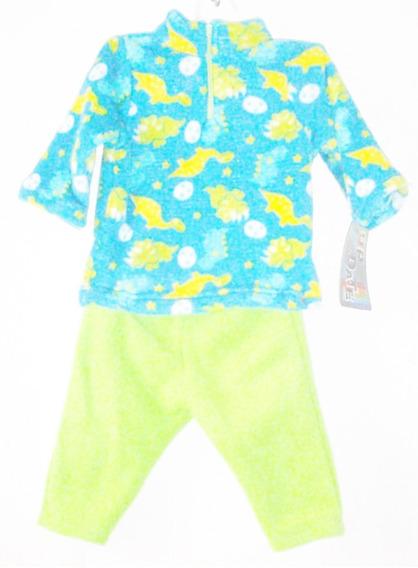 Conjunto Termico 2 Pzas Sudadera Y Pantalon Frio Bebé 6-9