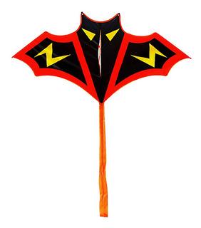 Deporte Al Aire Libre Dibujos Animados Bat Kite Con Colas