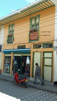 Casa 2 Pisos Con Local Estrato 3 Aguadas Departamento Caldas