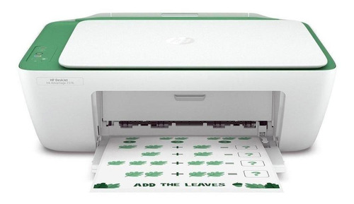 Impressora a cor HP Deskjet Ink Advantage 2376 branca e verde 100V/240V 7WQ02A
