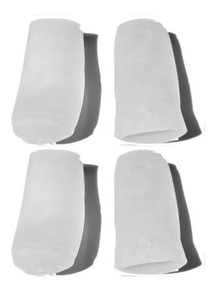 4 X Dedal De Gel Protector De Callos / Gel Cristal / Dolor