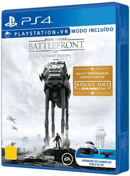 Star Wars Battlefront Ultimate Edt. Ps4 Midia Fisica Lacrado