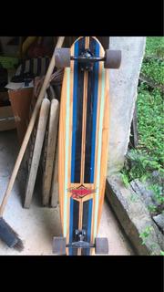 Longboard+remo Para Skate