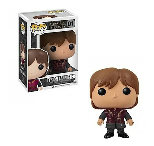 Funko Pop Game Of Thrones - Tyrion Lannister Nro 01 - E11eve