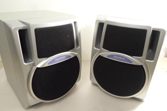 Caixas Acusticas (par) Gradiente Mod. Se - 600 (usadas)