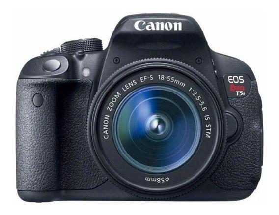 Câmera Canon T5i 18x135 18mp