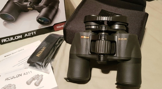 Binóculo Profissional Importado Nikon 10x42 Aculon A211