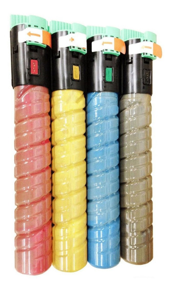 Kit 6 Toners Ricoh C2050 C2051 ( 2c+2m+2y)