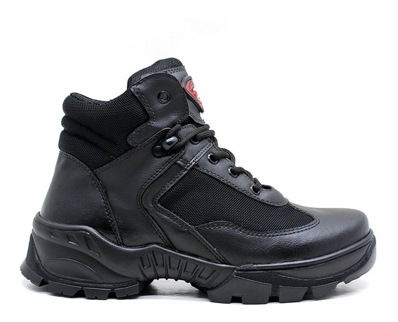Bota Coturno Tática Militar Cano Curto By Franboots