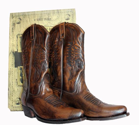 Botas Vaqueras Texanas Loblan Nuevas Puro Cuero Modelo 520w