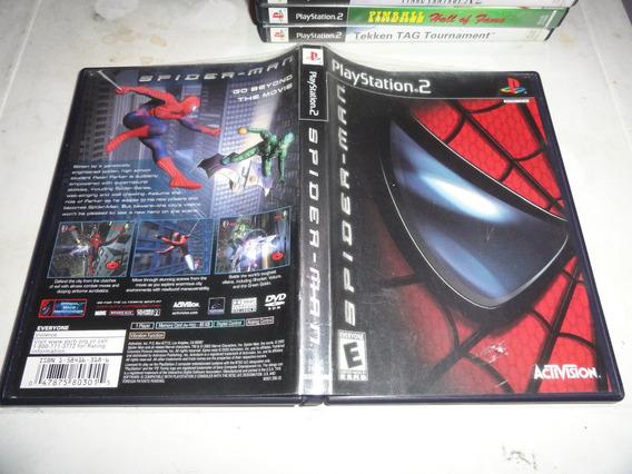 Spiderman Original Ps2 Midia Black Label