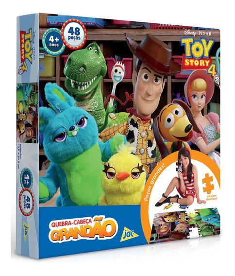 Puzzle Quebra Cabeça Toy Story 4 Grandão 48 Peças