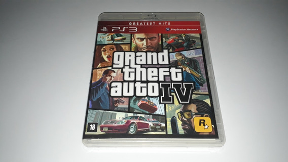 Gta 4 Grand Theft Auto - Ps3 Midia Fisica Semi Novo