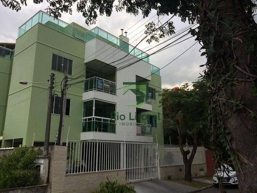 Cobertura Residencial À Venda, Extensão Do Bosque, Rio Das Ostras. - Co0007