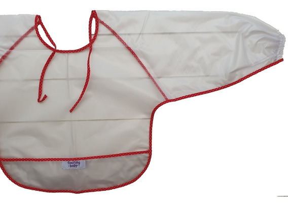 Babero Con Mangas Plastificado Impermeable Floating
