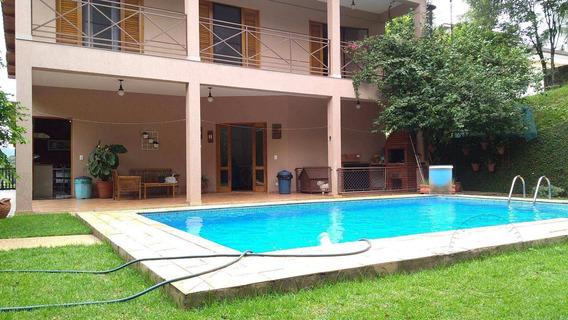 Casa Com 4 Dormitórios À Venda Por R$ 1.700.000 - Tarumã - Santana De Parnaíba/sp - Ca0041