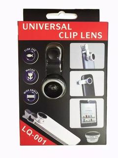 Kits C 20 Lente Universal Fish Eye Macro Angulo Aberto Lens