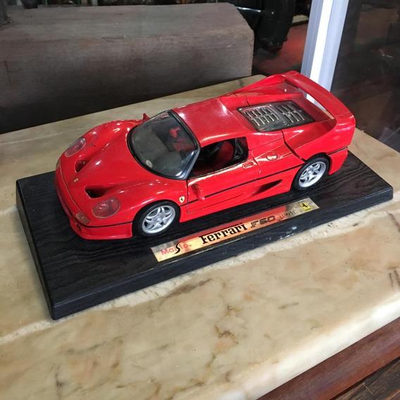 Miniatura Ferrari F50 1995 Escala 1/18 Brinquedo Antigo