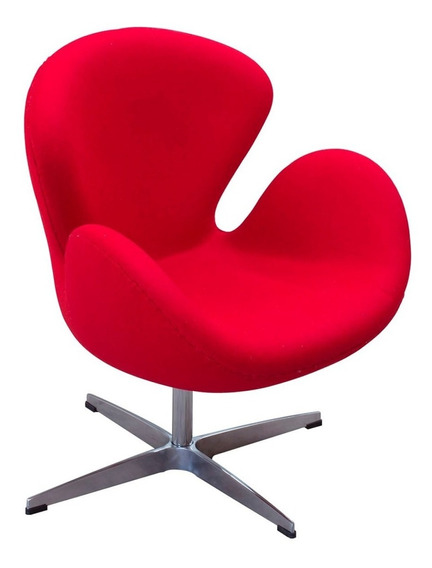 Pi - Sillon Cisne Rojo - Inlab Muebles