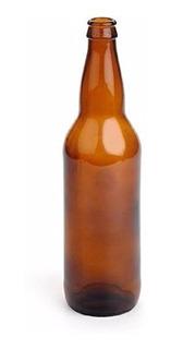 Botellas De Cerveza Color Ambar Marron