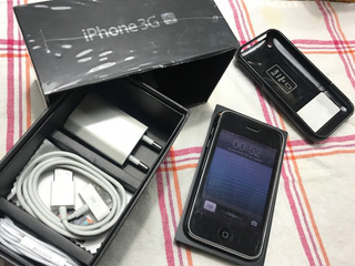 Apple iPhone 3gs 8gb - Relíquia Tudo Funcionando