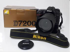 Câmera Nikon D7200 Somente O Corpo Com Menos De 15k