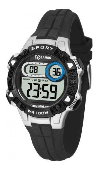 Relógio Xgames Xkppd060 Bxpx Unissex Preto/prata - Refinado