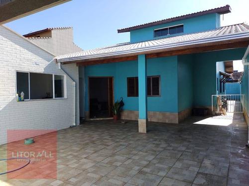 Imagem 1 de 18 de Casa Com 3 Dormitórios À Venda, 193 M² Por R$ 399.000,00 - Tupy - Itanhaém/sp - Ca1444