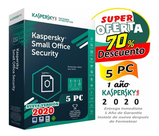 Licencia Kaspersky Small Office Security 5pcs 1año