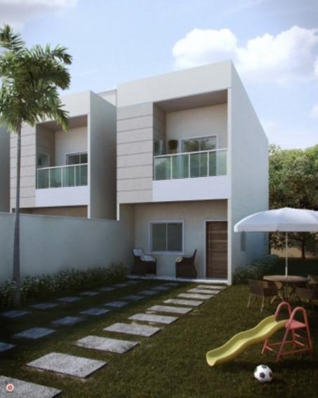 3 Casas Duplex, 3 Quartos (1 Suíte) Com 109m² , Casas Independentes Com Previsão Para Ar Condicionado Split, Hidrômetro Individual, Próximo Ao Do Mar De Manguinhos - Ca00062 - 3371353