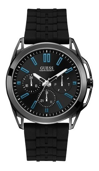 Relógio Masculino Guess Men Dress Preto 92734gpgssu1 C/ Nfe